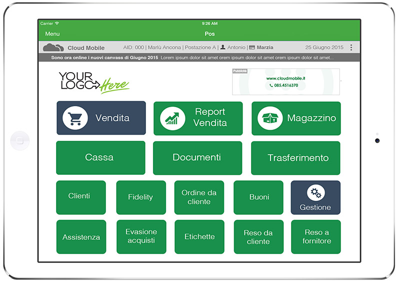 Gruppo go infoteam informatica pescara cloud mobile for Sito mobili online